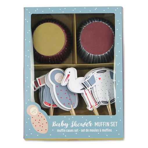 Cupcake-Set Baby Shower (VE= 6)×1