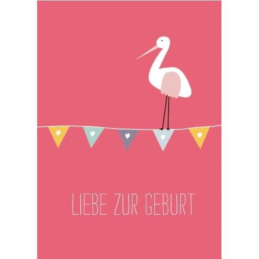 Geburt pink