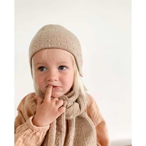 hat dua sand scarf colour sand scaled