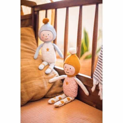 Puppe Elly aus Bio-Strickstoff