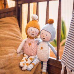 Puppe Eddie aus Bio-Strickstoff