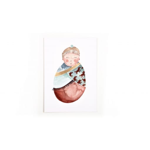 Postkarte Baby