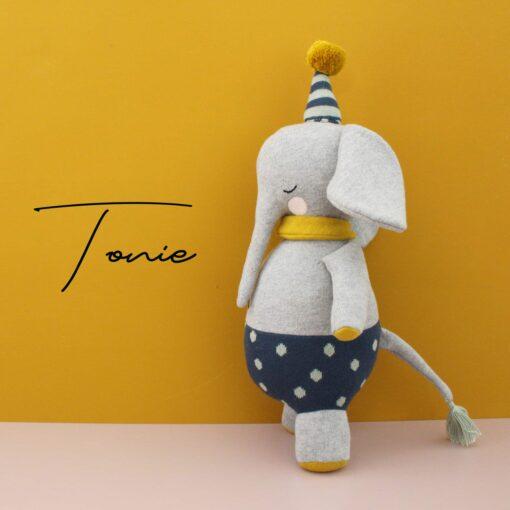 """Kuscheltier Elefant """"Tonie"""" groß"""