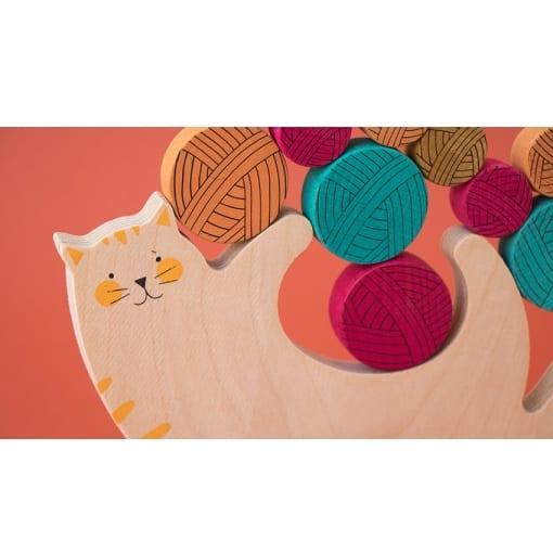 Meow! / Miau Gleichgewichtsspiel