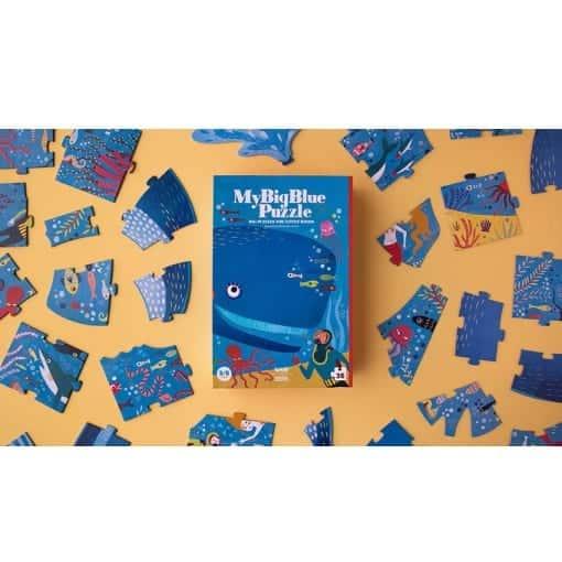 Riesenpuzzle My Big Blue / Wal