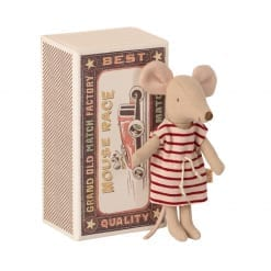 Big sister mouse, in matchbox