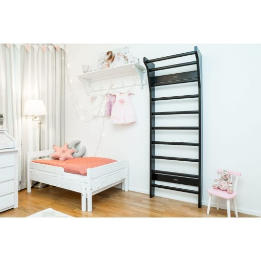 FitWood UPPLYFT MINI Kids Wallbars Black Decoration Scandinavian Design scaled