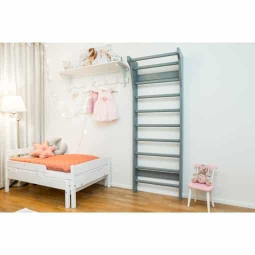 FitWood UPPLYFT MINI Kids Wallbars Grey Decoration Scandinavian Design scaled