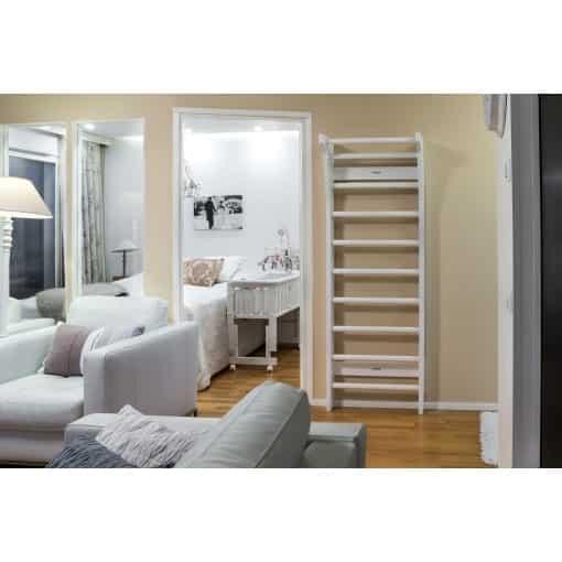 FitWood UPPLYFT MINI Kids Wallbars White Decoration Scandinavian Design 3 scaled