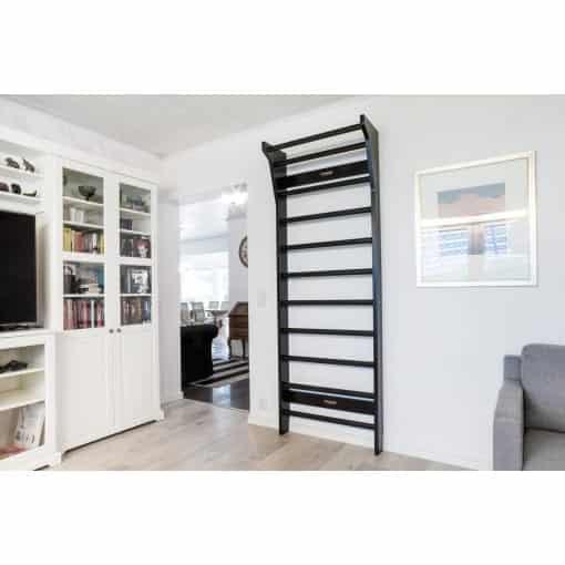 FitWood UPPLYFT black wallbars sprossenwand puolapuut livingroom scaled