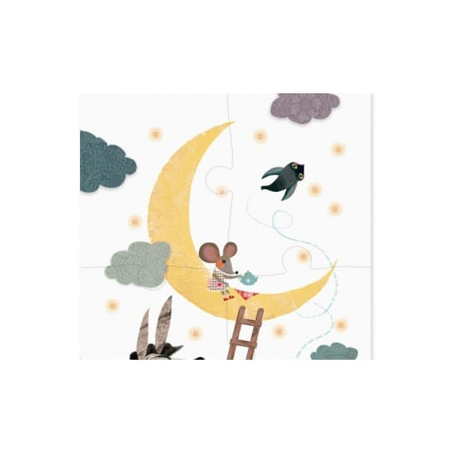 Up to the moon puzzle