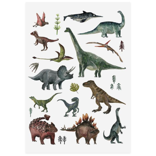 Tattoo Dinosaurs Sheet RGB aebec938 09f4 47ef be52