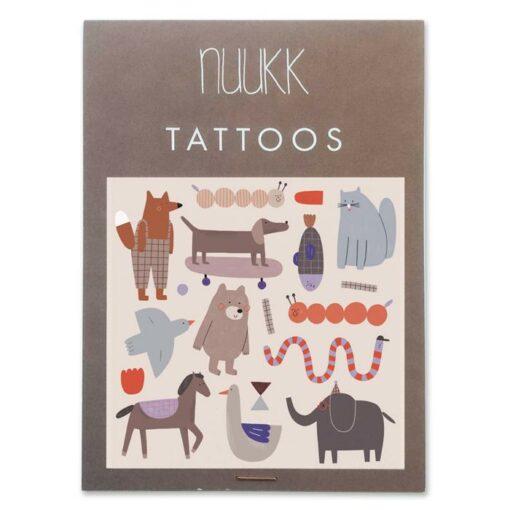 nuukk tattoo packaging bear and friends XS b5e8dd6d d16a 4f67 89b7