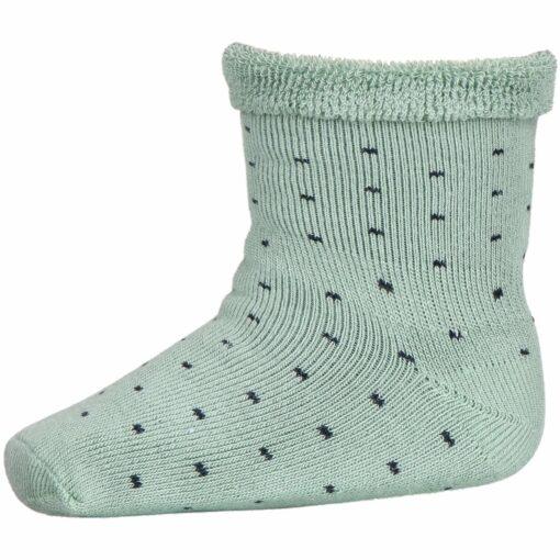 MP 77190 carly socks 3043 granite green dots p
