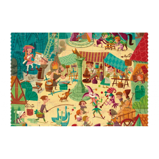 go to medieval times puzzle 3