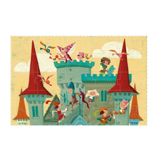 go to medieval times puzzle